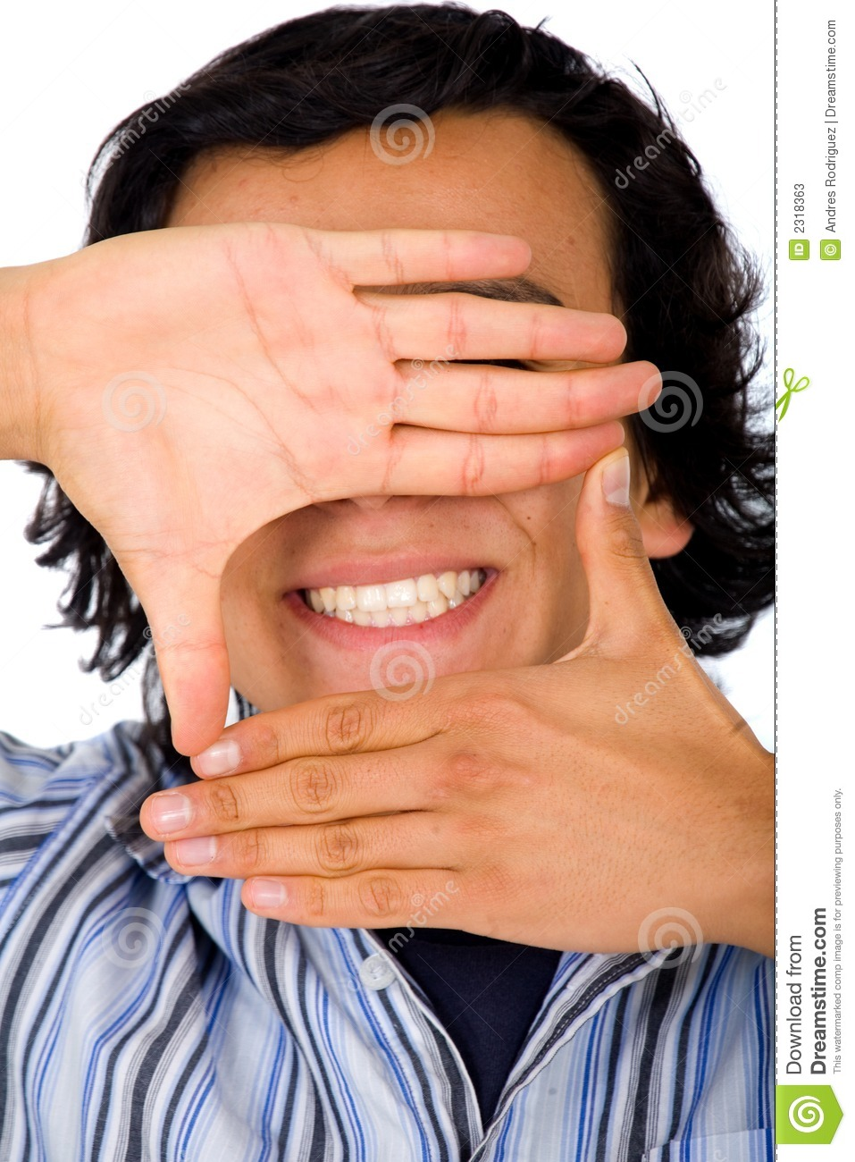 hand framing a smile stock photo 2318363 megapixl