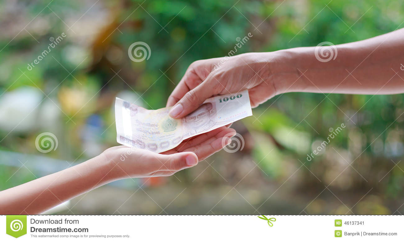 Von Einer Hand Zur Anderen Hand