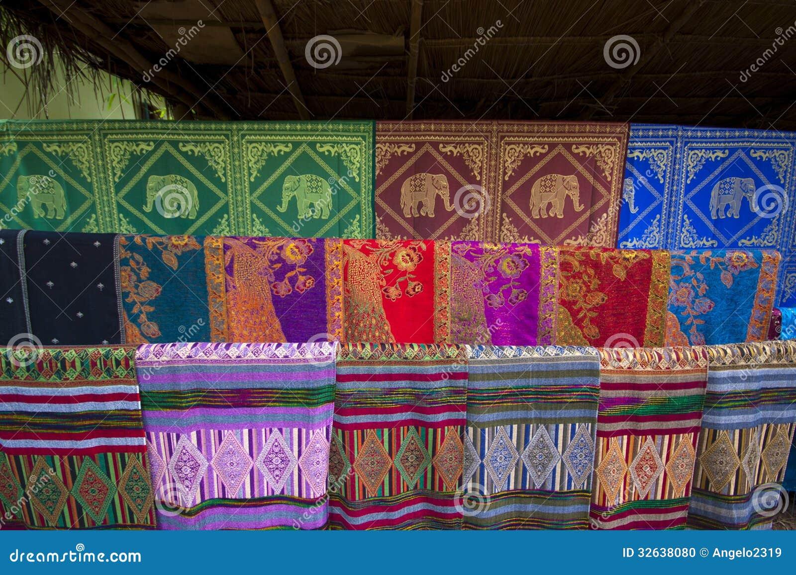 Hand geweven stoffen stock foto afbeelding bestaande uit cultuur 32638080 - Oosters stof ...