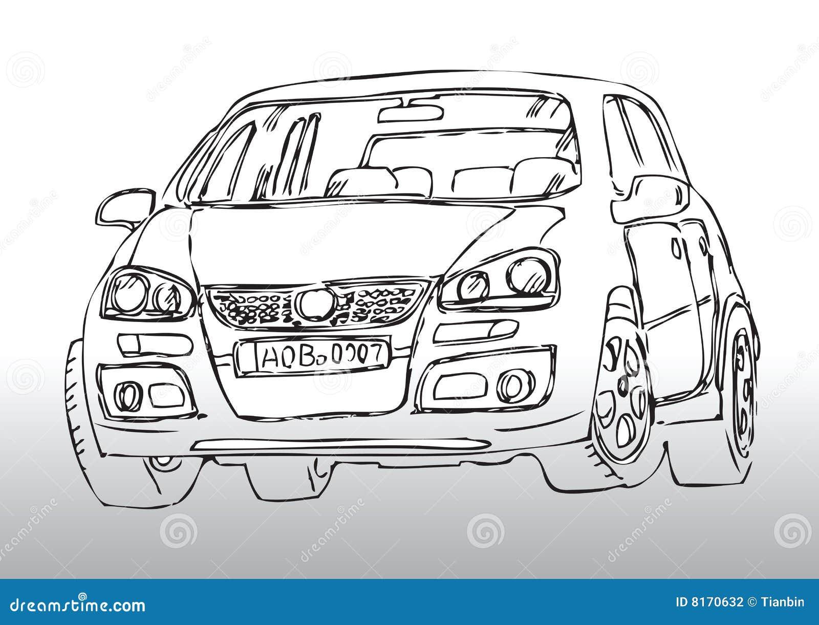 Schön Auto Skizziert Vorlagen Ideen - Beispiel Wiederaufnahme ...