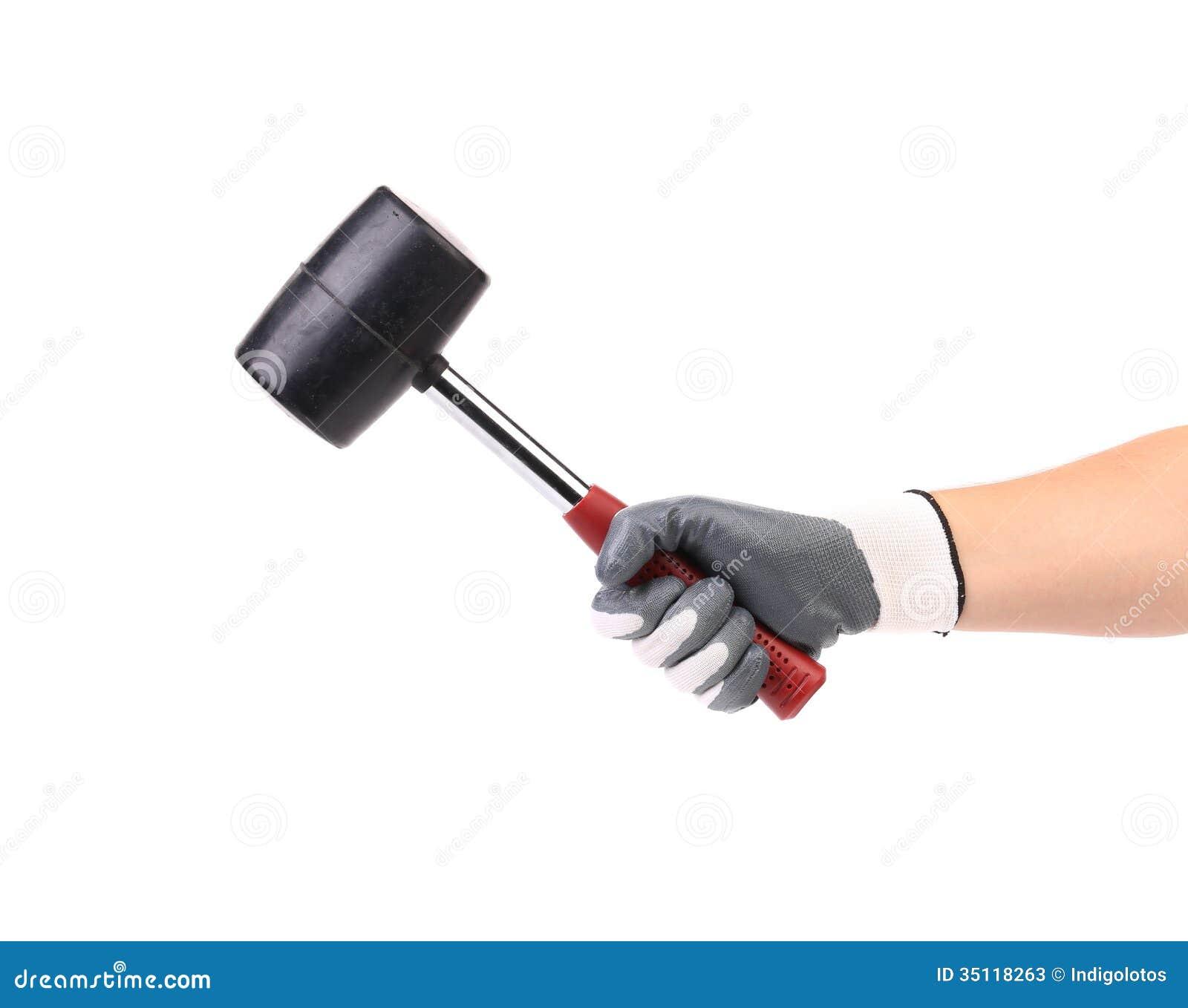 Black hammer gloves -