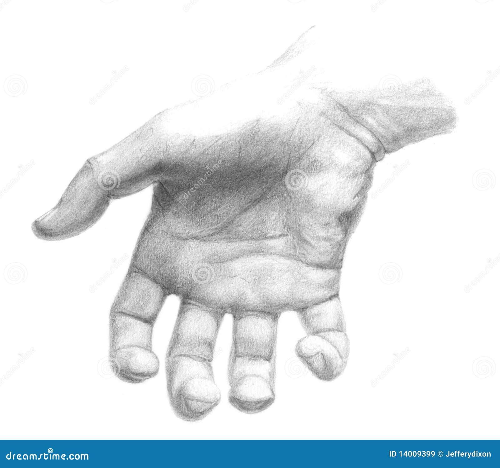 Hand Grabbing stock illustration. Illustration of part ...Grabbing Hand Drawing