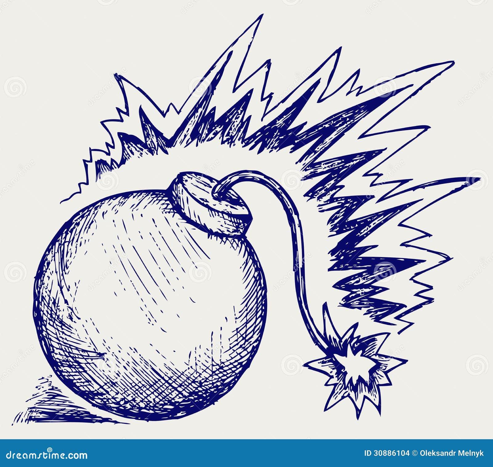 Hand Grenade Stock Vector Illustration Of Cartoon Creative