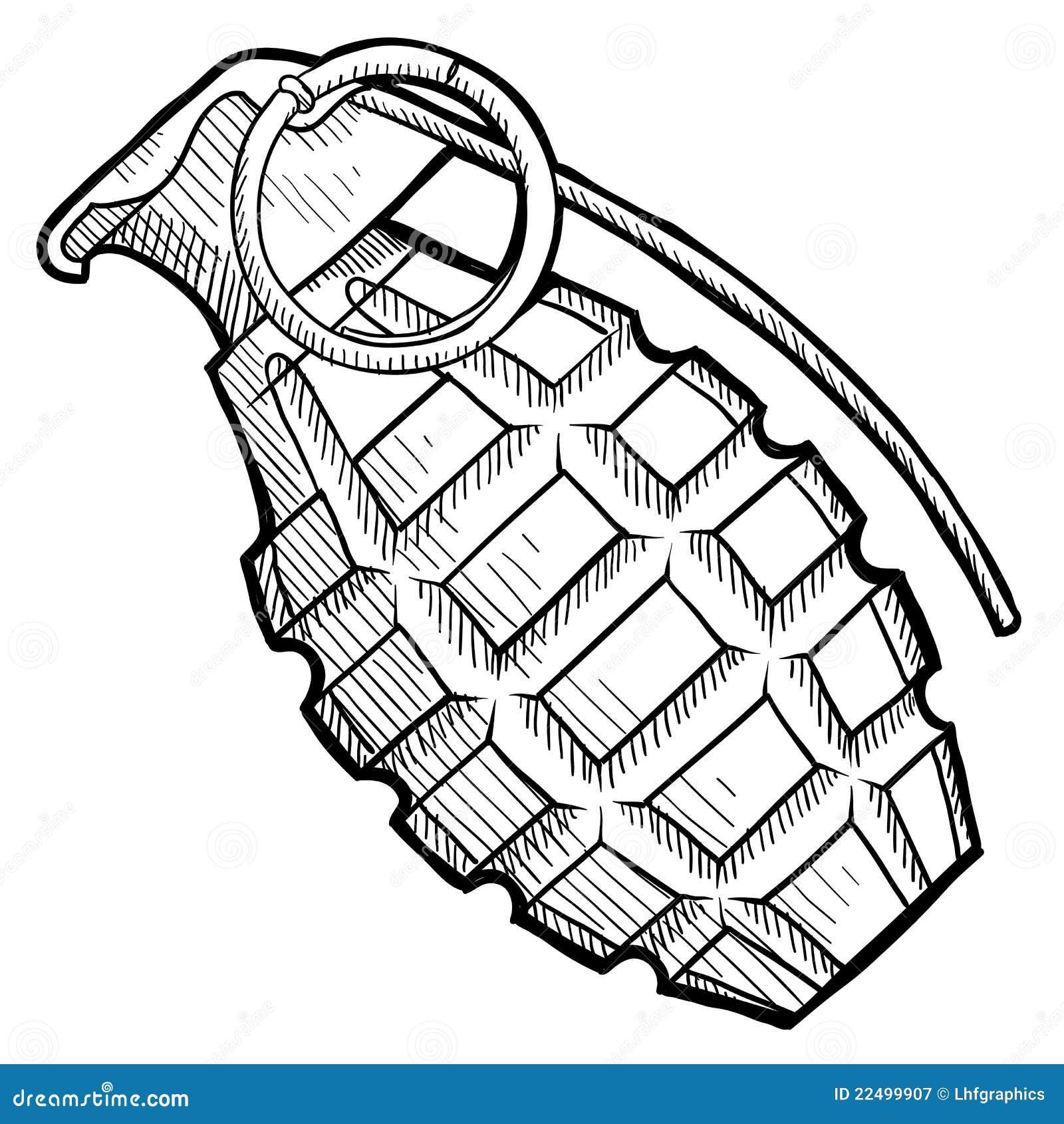 grenade clip art