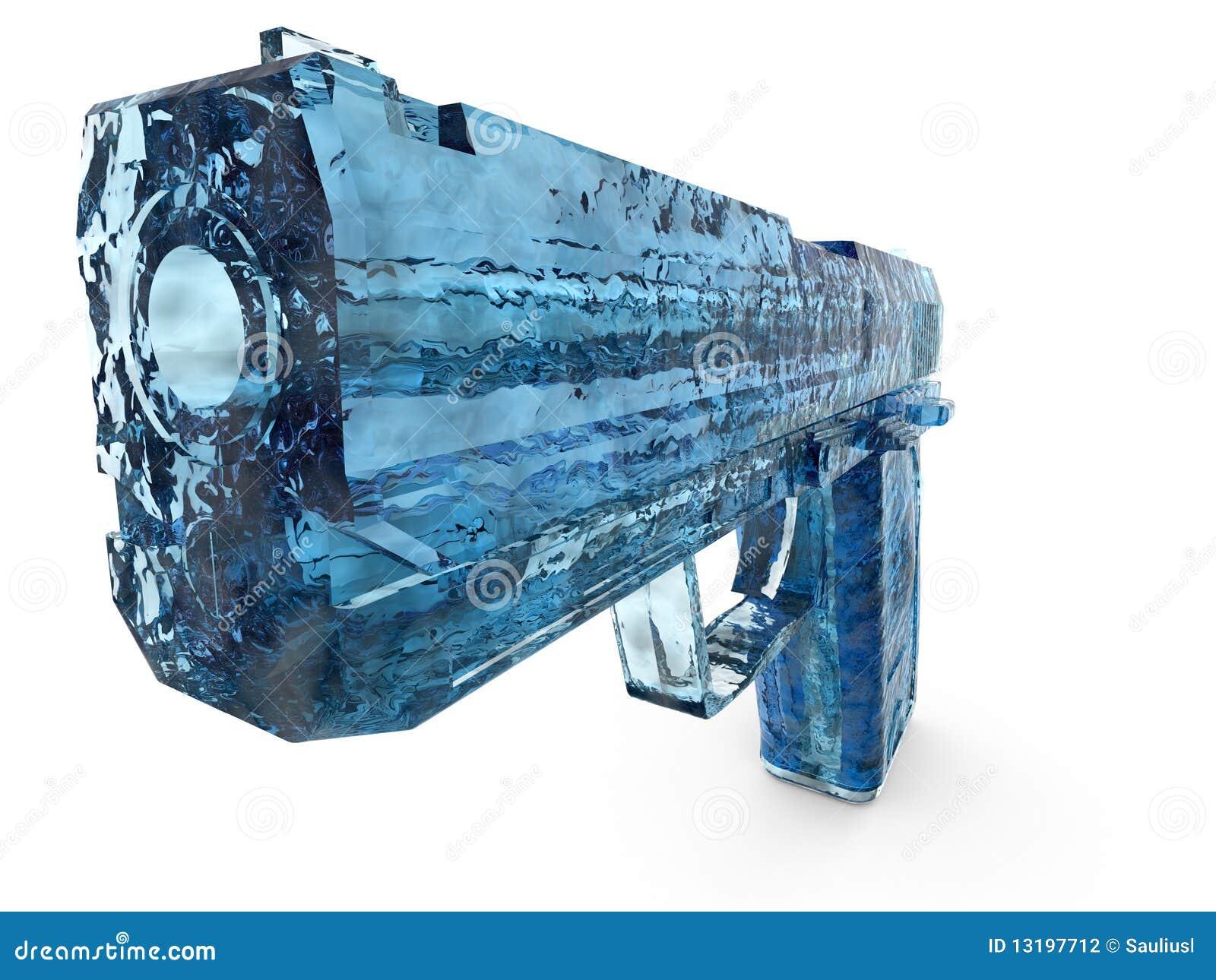 Hand gun stock illustration Illustration of image cold