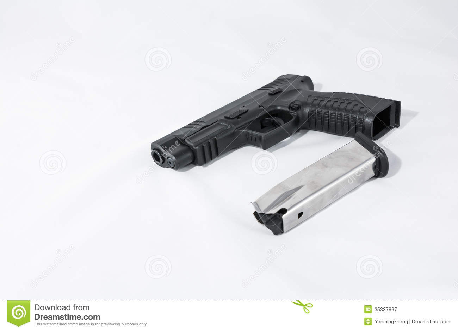 gun white background - photo #45
