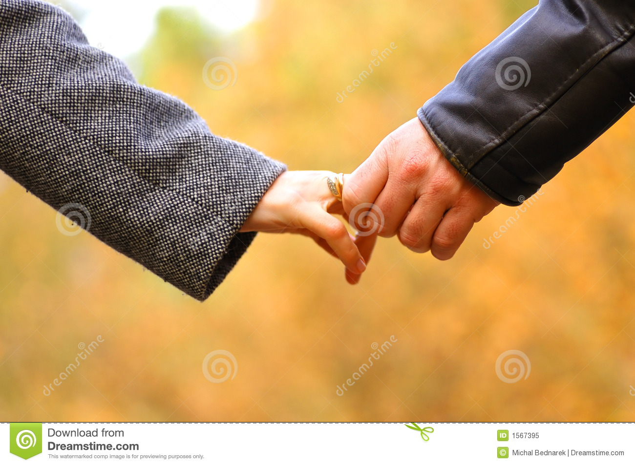 Hand-in-hand Royalty Free Stock Photo - Image: 1567395