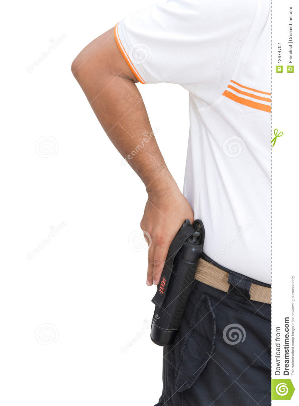 how to hold a gun