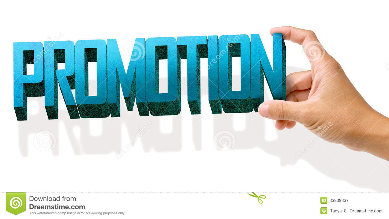 Hand Hold Promotion Royalty Free Stock Photography - Image ...