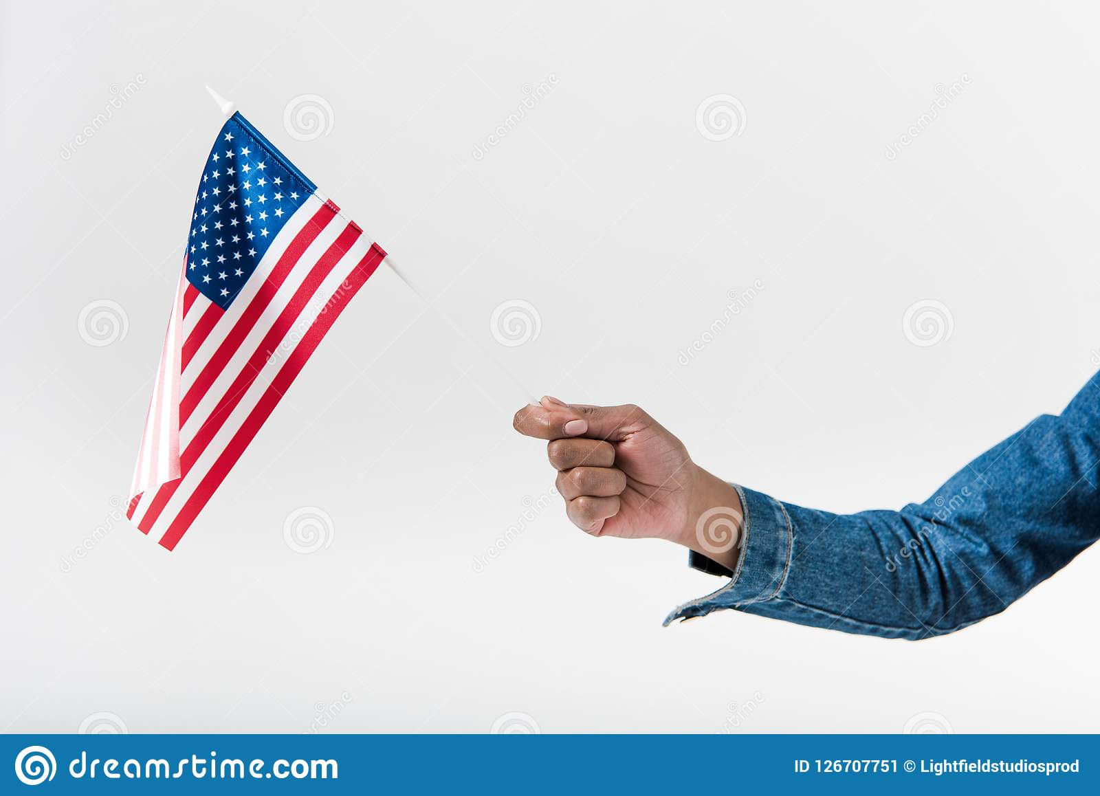 3ed1e4270927 Close-up Hand Of African American Girl Stock Image - Image of stick ...