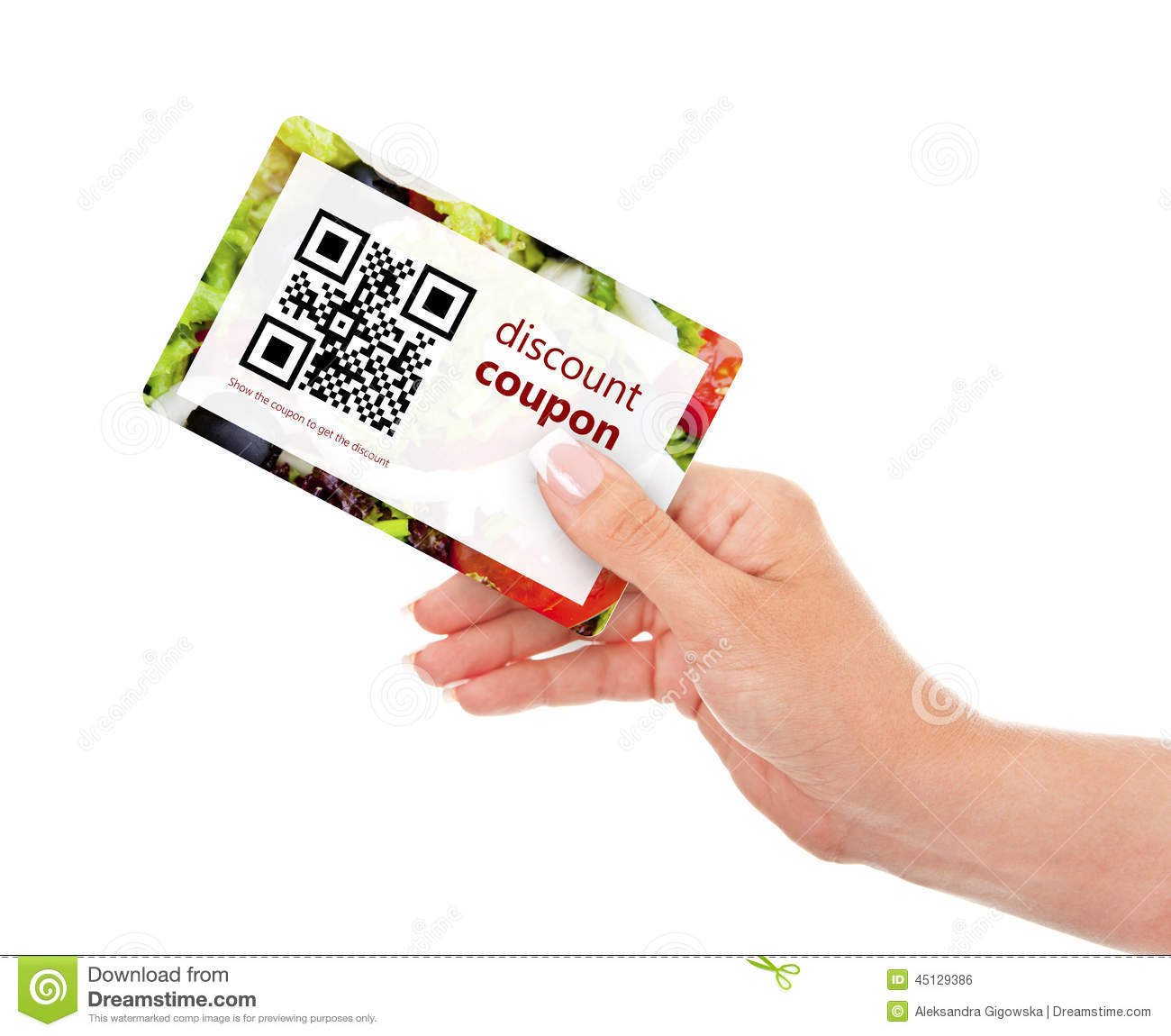 Qr coupon tracking