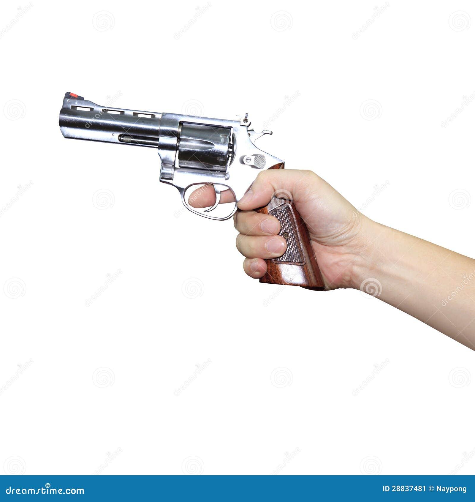 Hand Holding A Gun Stock Image - Image: 28837481