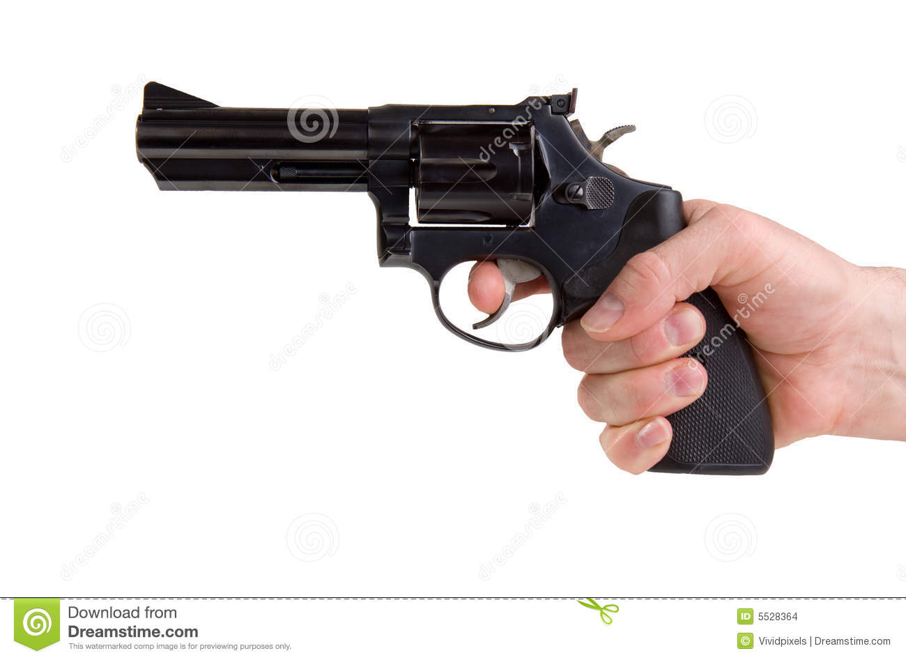 Hand Holding Gun Stock Images - Image: 5528364