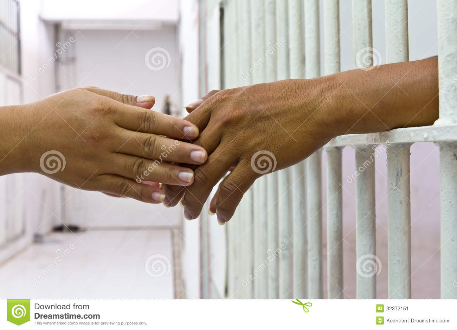 Hand holding hand.