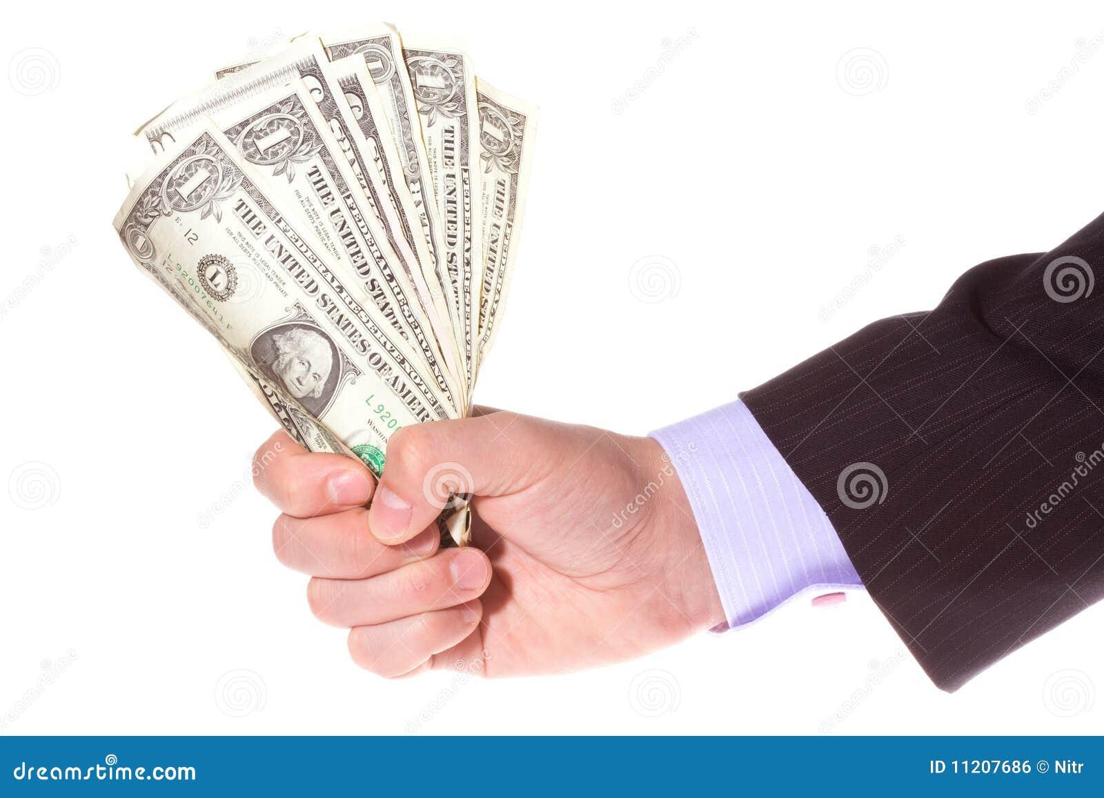 Hand Holding Money Royalty Free Stock Image - Image: 11207686Holding Money In Hand