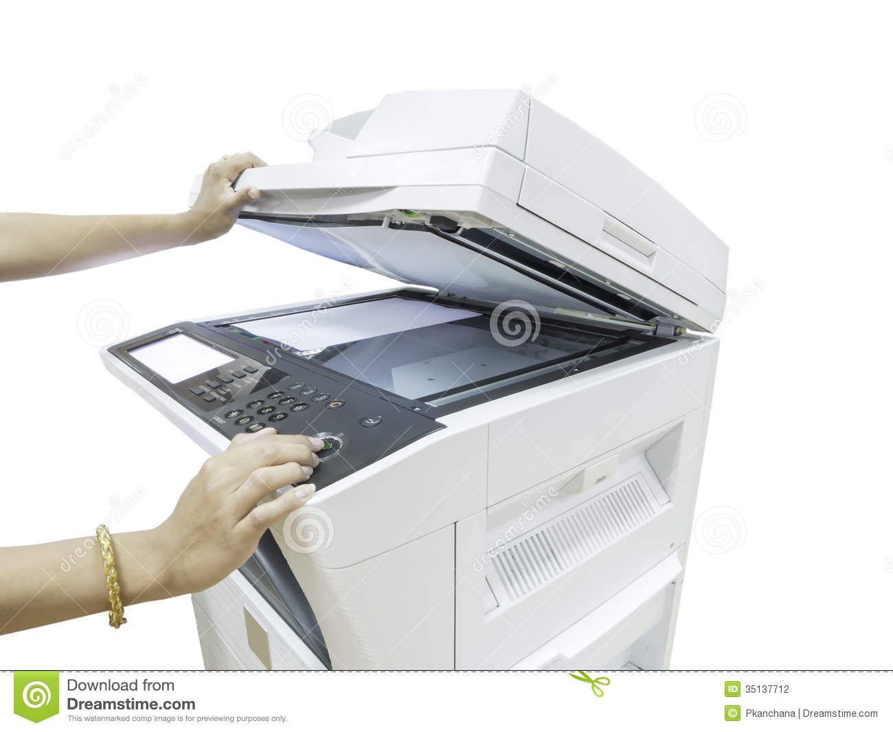 Copy Machine Clip Art Copier machine isolated on