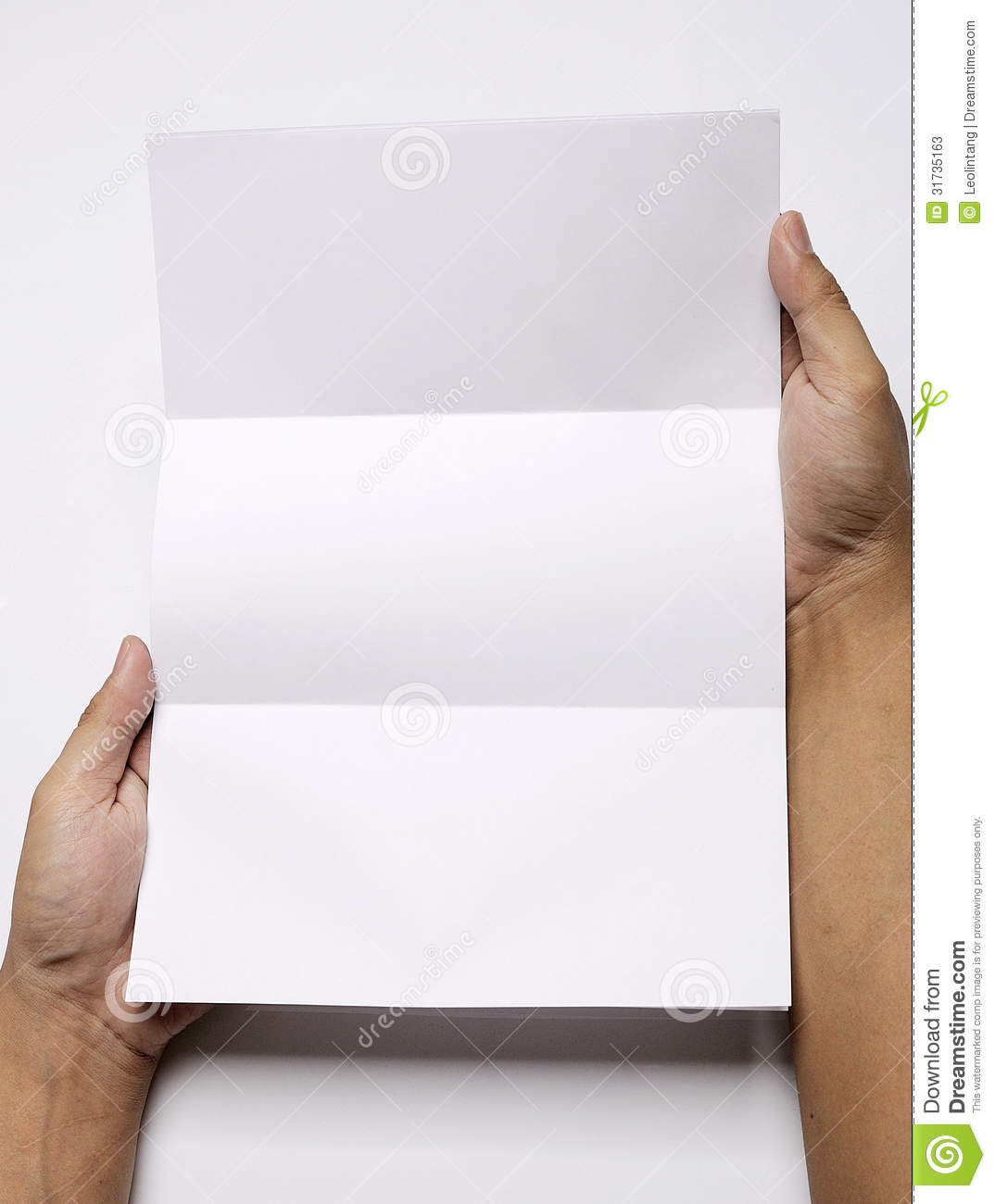 blank top writing paper
