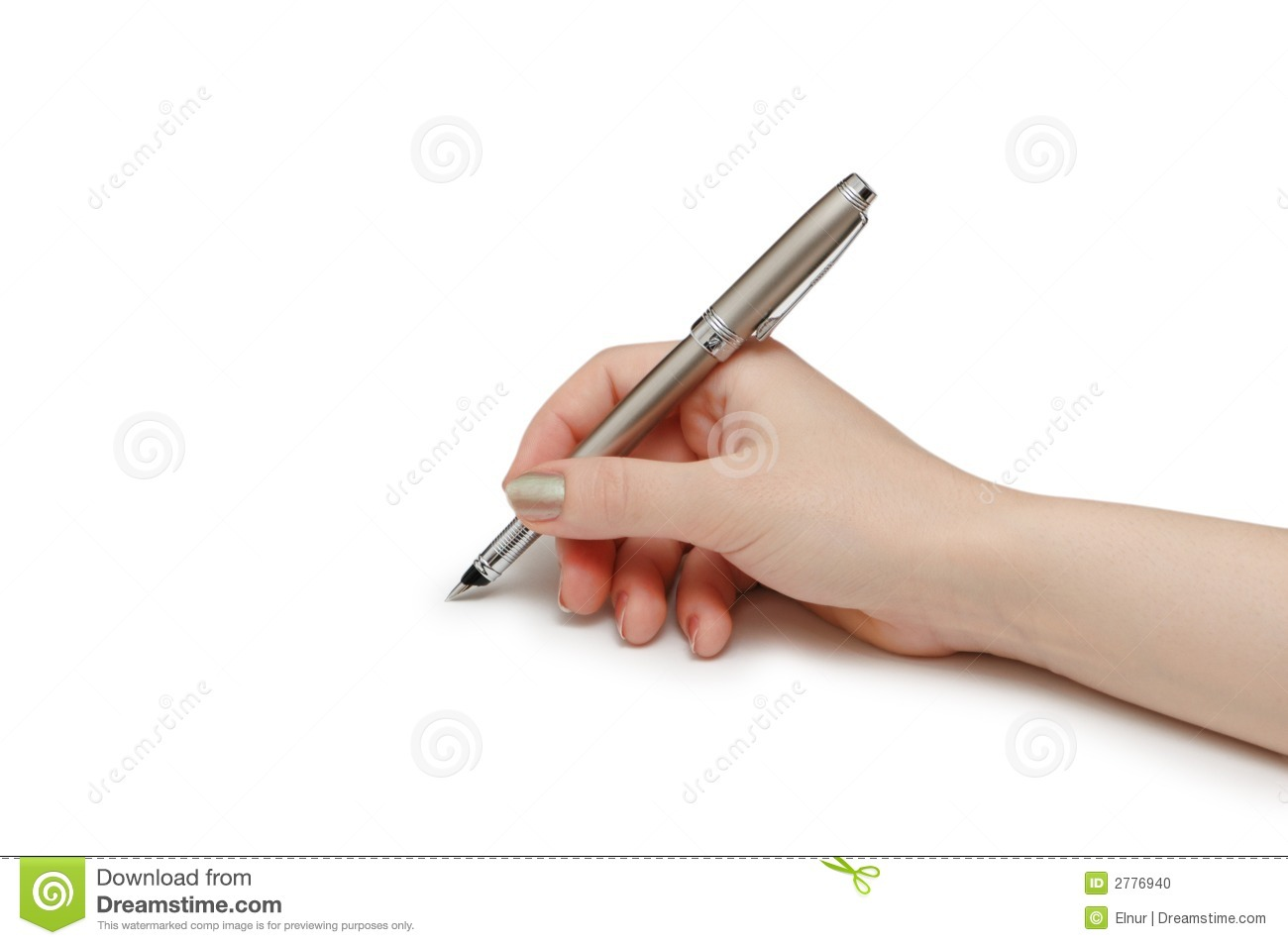Holding Pencil Between Middle And Ring Finger