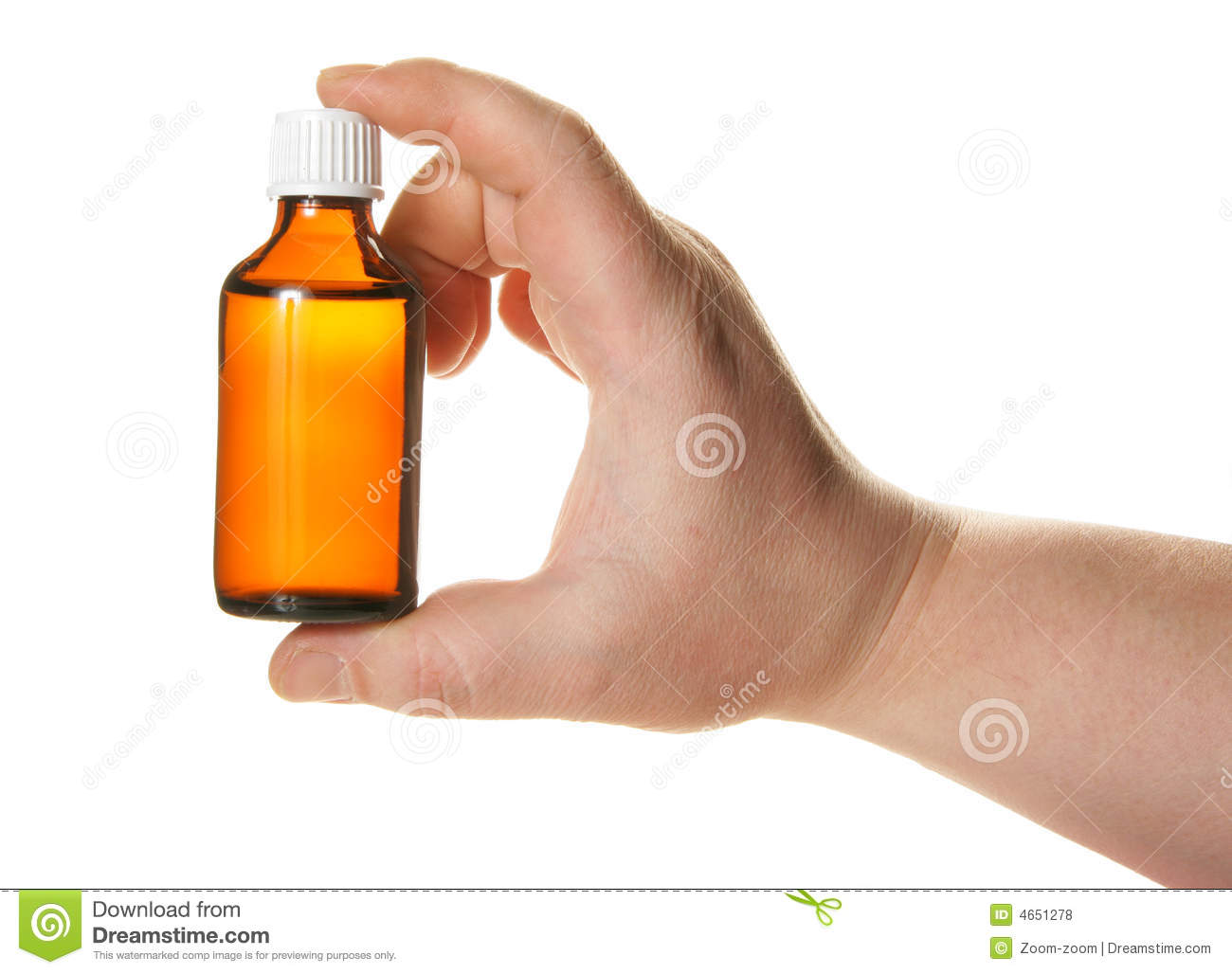 Hand holding small medicine bottle stock photo image for Small pill bottles