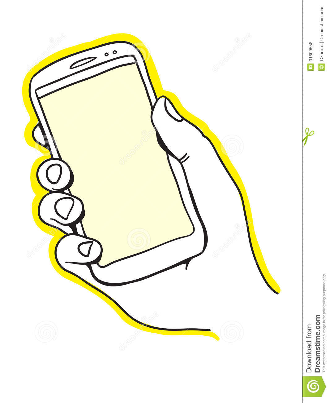 Hand Holding Smart Phone Royalty Free Stock Photos - Image ...
