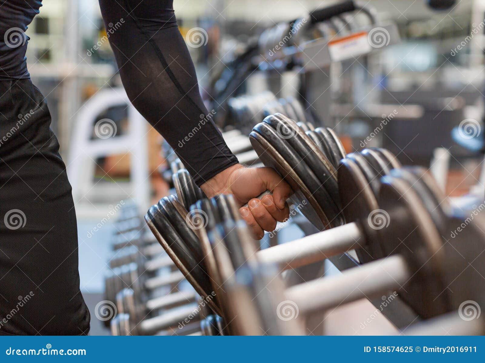 Free stock photo of bodybuilding, close-up, dumbbells