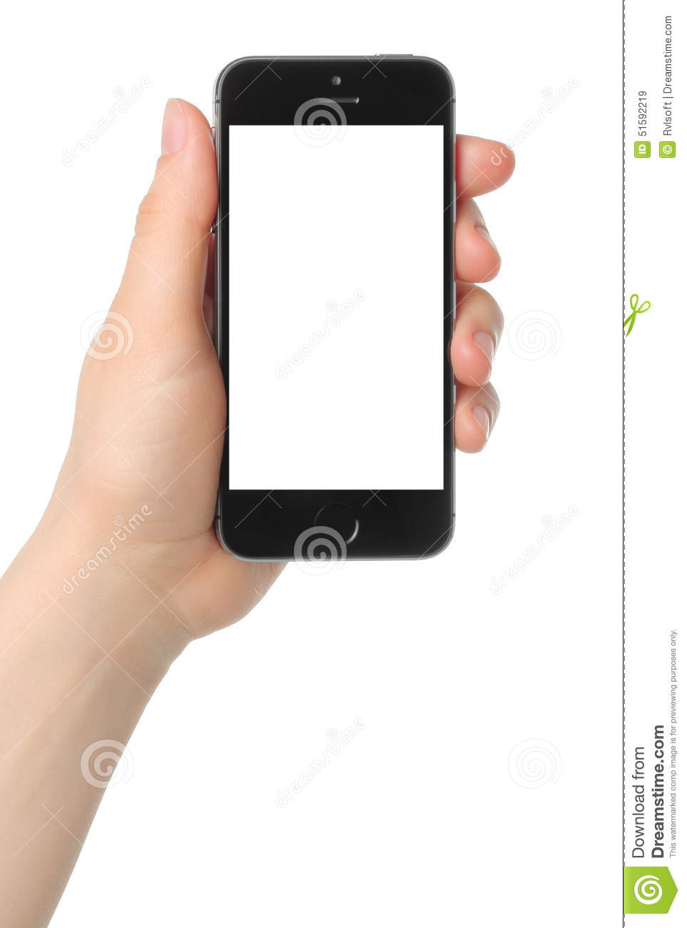 Hand holds iphone 5s space gray on white background - Wallpaper iphone 5s space grey ...