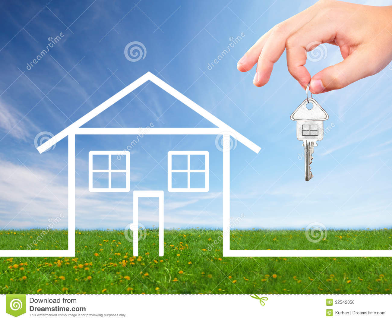 Hand with a house key royalty free stock image image for New home images free