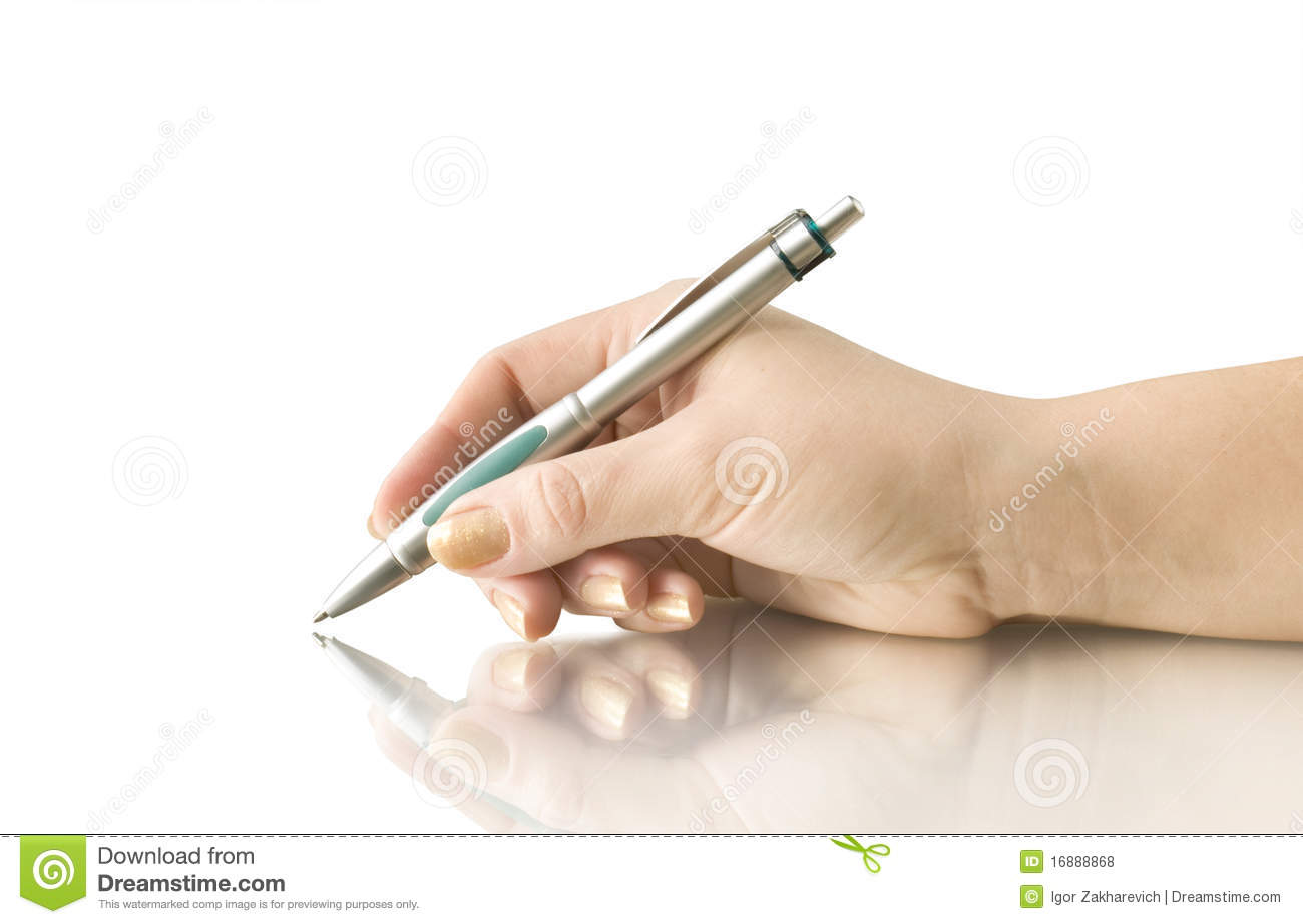 Hand keep pen and writing royalty free stock photos for Take me fishing org