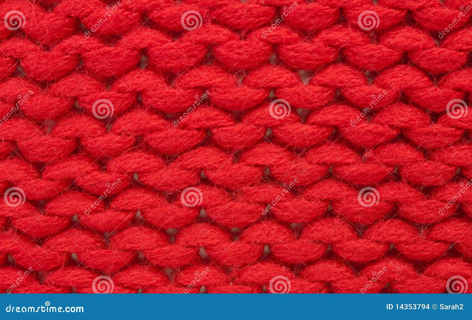 Basic Hand Knitting Stitches : Hand Knitting - Plain Stitch Stock Images - Image: 14353794