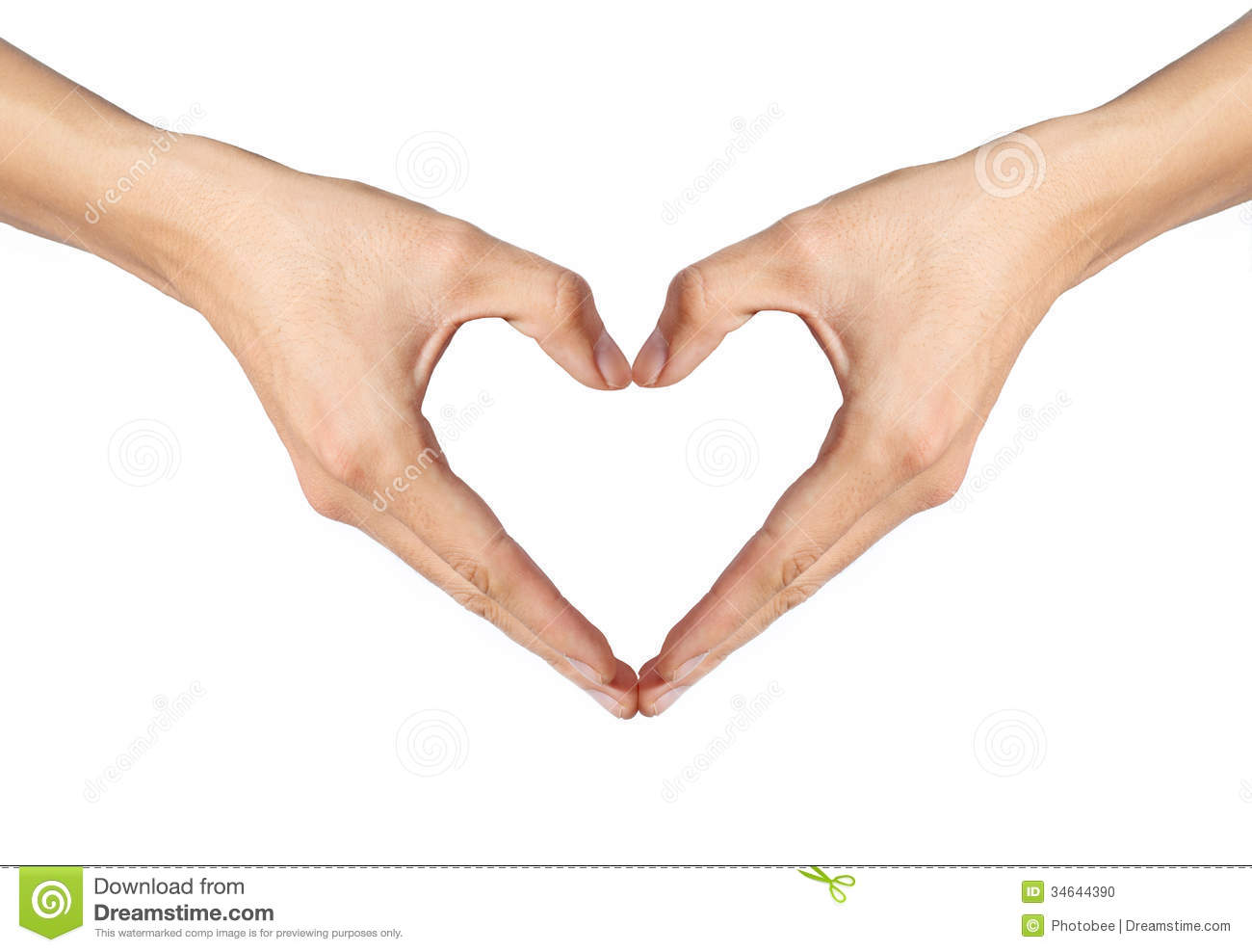 making heart by hands - photo #13