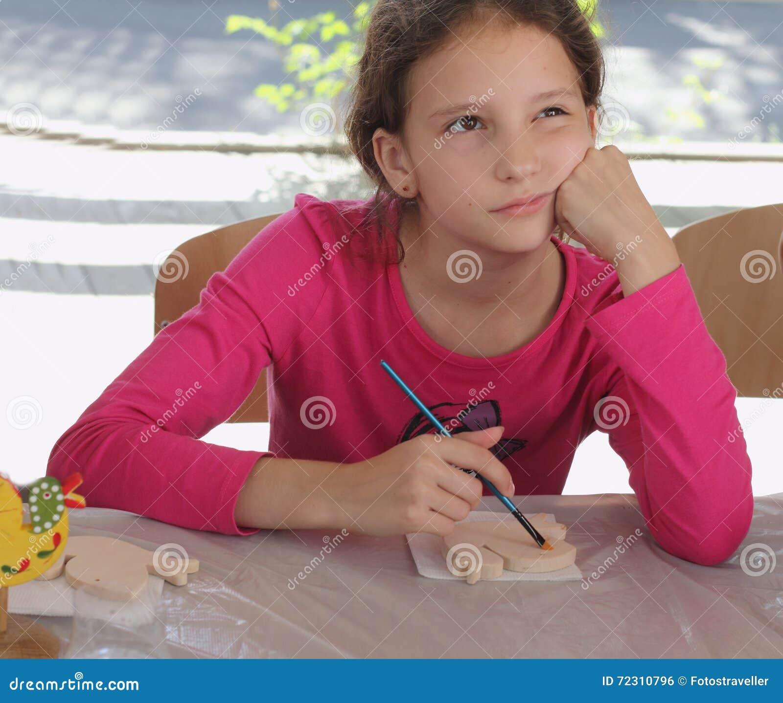 Hand-målade barns idérika leksaker