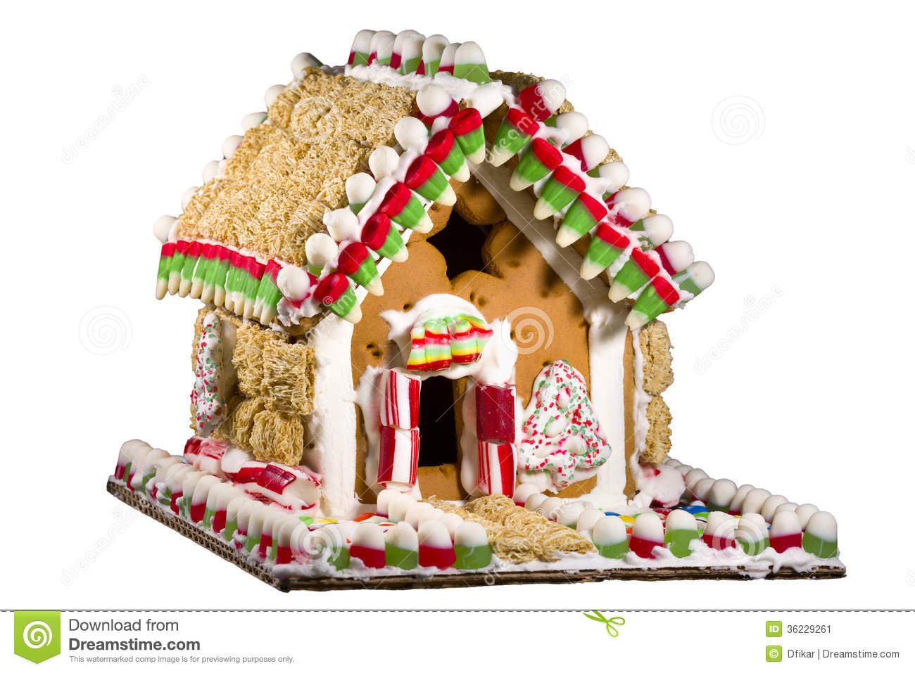 Gingerbread House White Chocolate