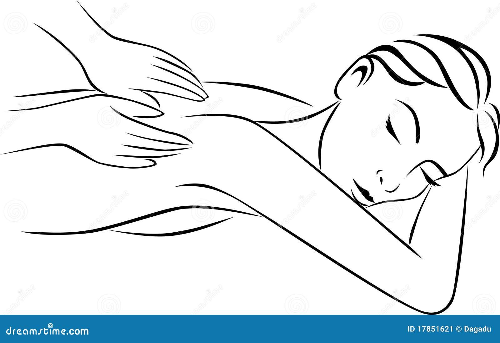 hand massage stock vector  illustration of massaging