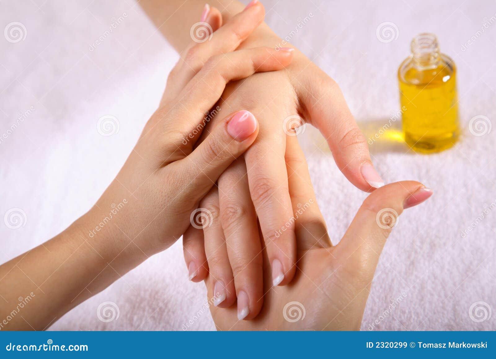 hand massage royalty free stock images   image 2320299