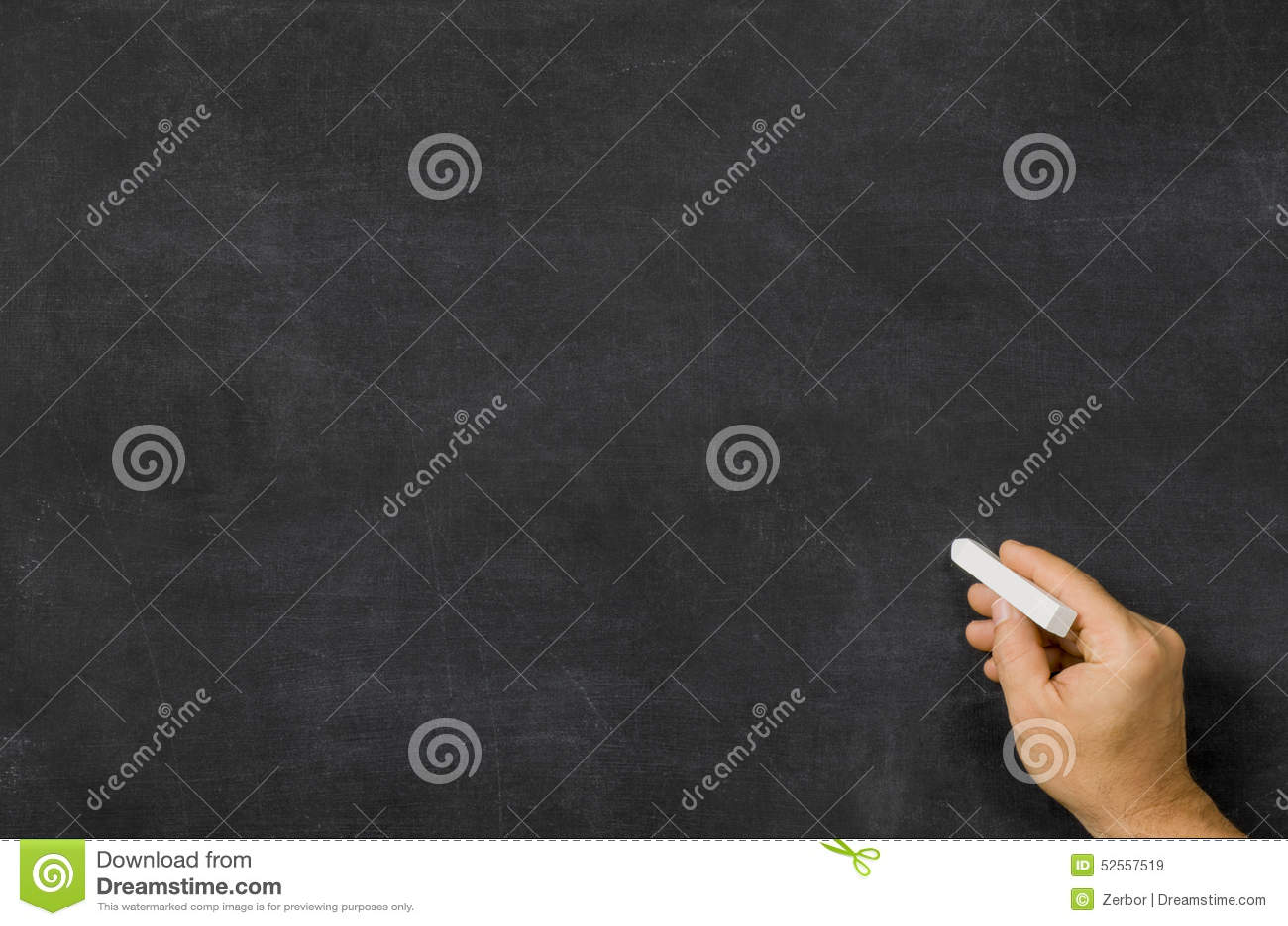 hand mit kreide vor einer tafel stock abbildung bild. Black Bedroom Furniture Sets. Home Design Ideas