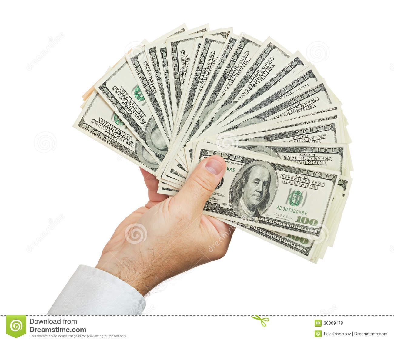 Hand With Money Royalty Free Stock Photos - Image: 36309178Holding Money In Hand