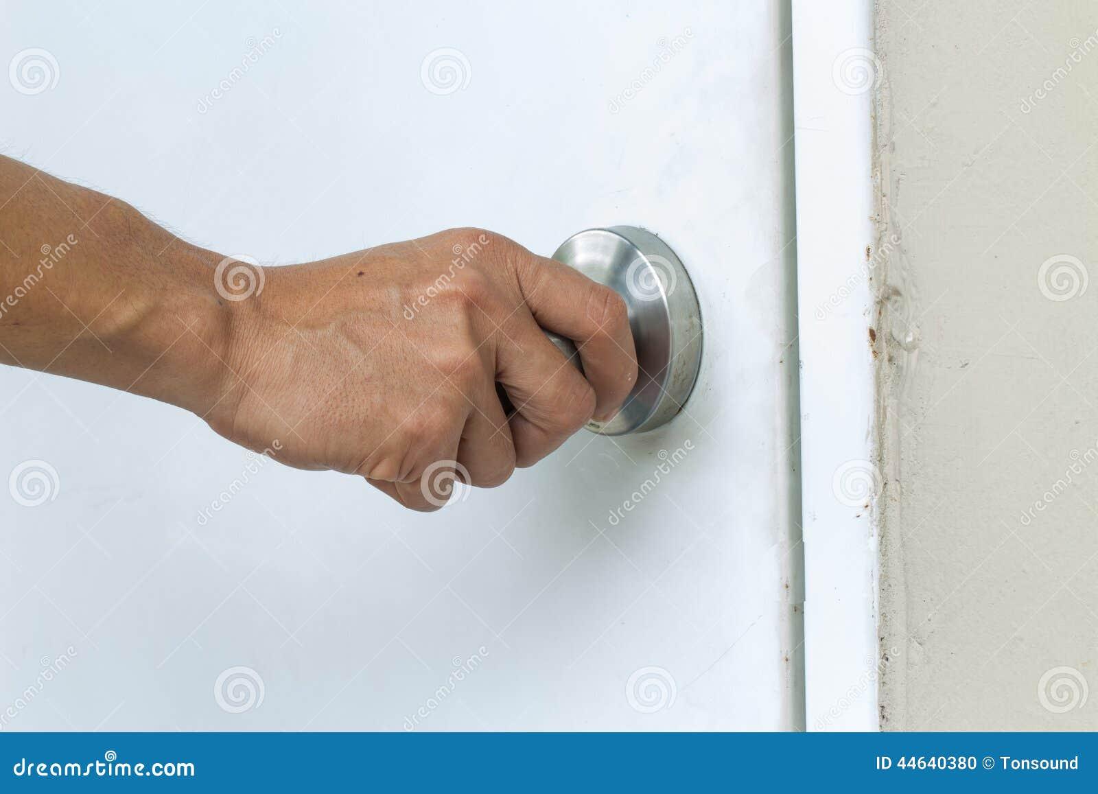 Hand open door knob Stock Photo & Hand Open Door Knob Stock Photo - Image: 51264706 Pezcame.Com