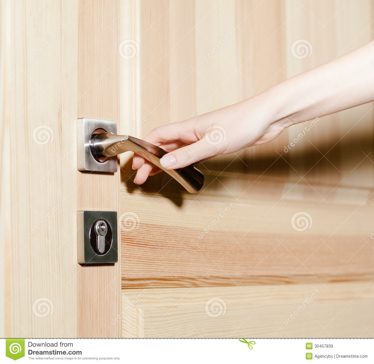 Hand opening the door & Hand opening the door stock image. Image of accessibility - 30457839