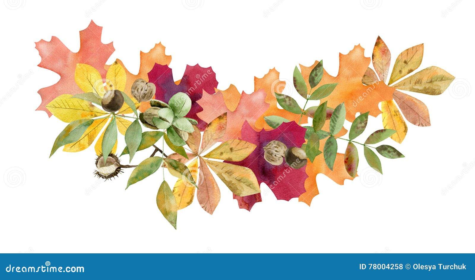 Clip Art Autumn Foliage