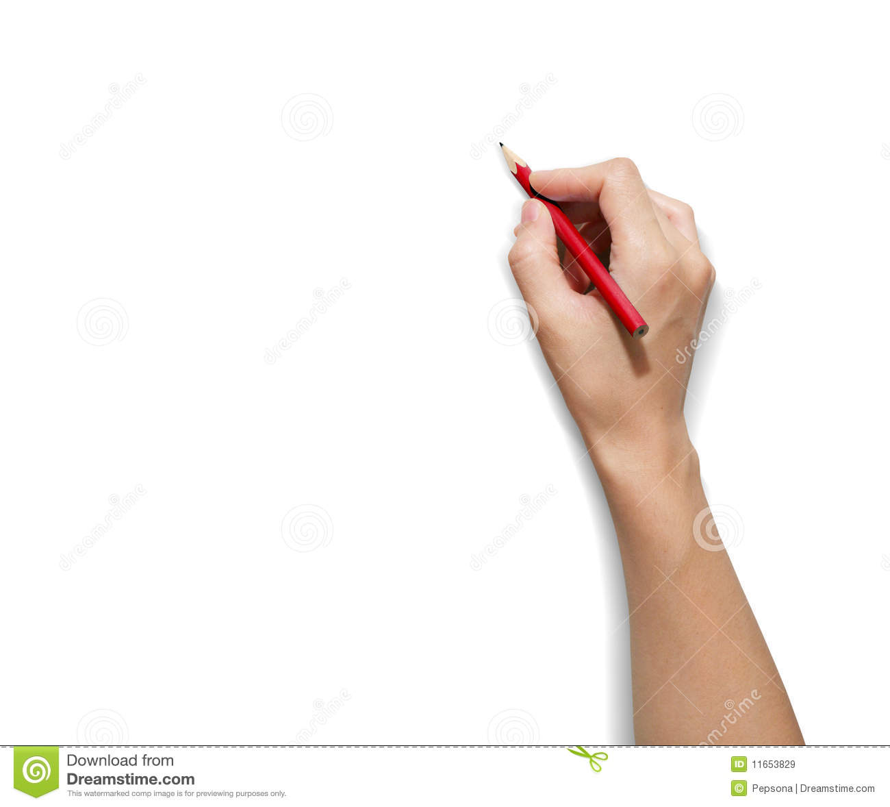 HAND Pencil Royalty Free Stock Images - Image: 11653829