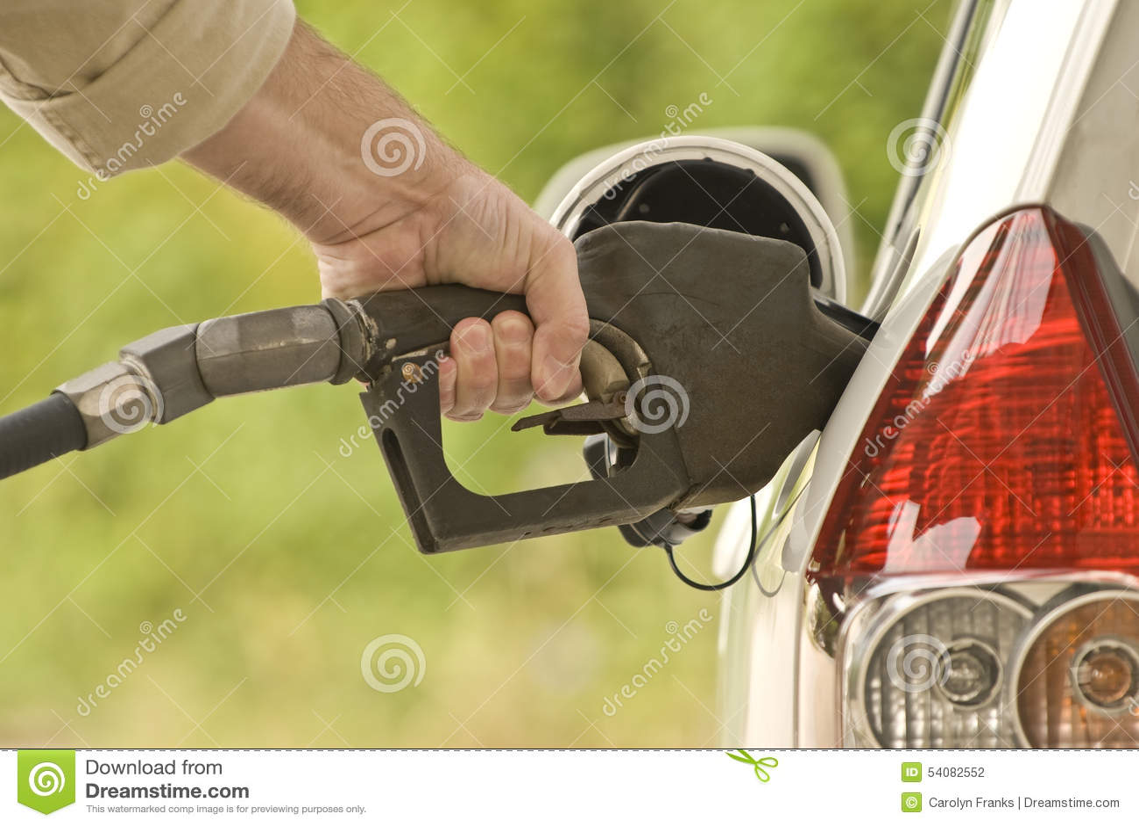 Hand Pompende Benzine 2