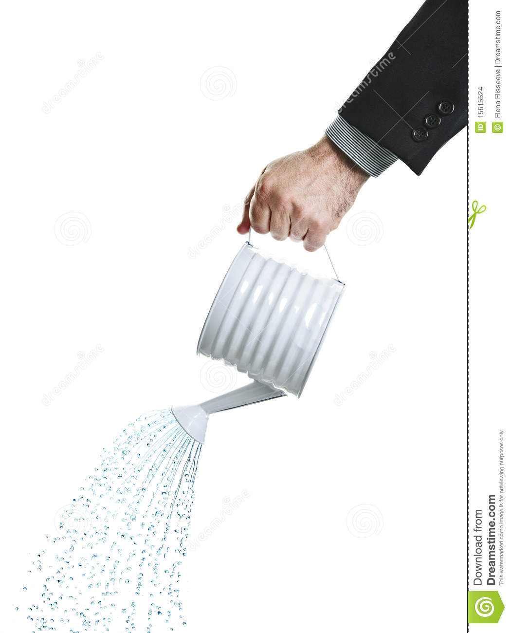Hand Pouring Water From Watering Can Stock Images - Image ...