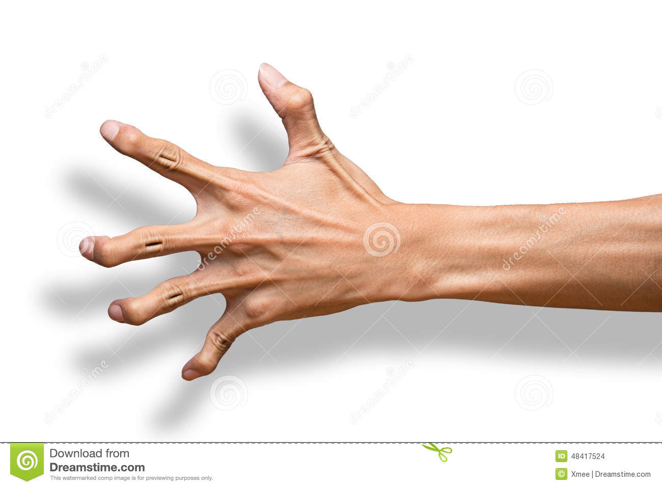 Hand Scary Claw Stock Images - 116 Photos
