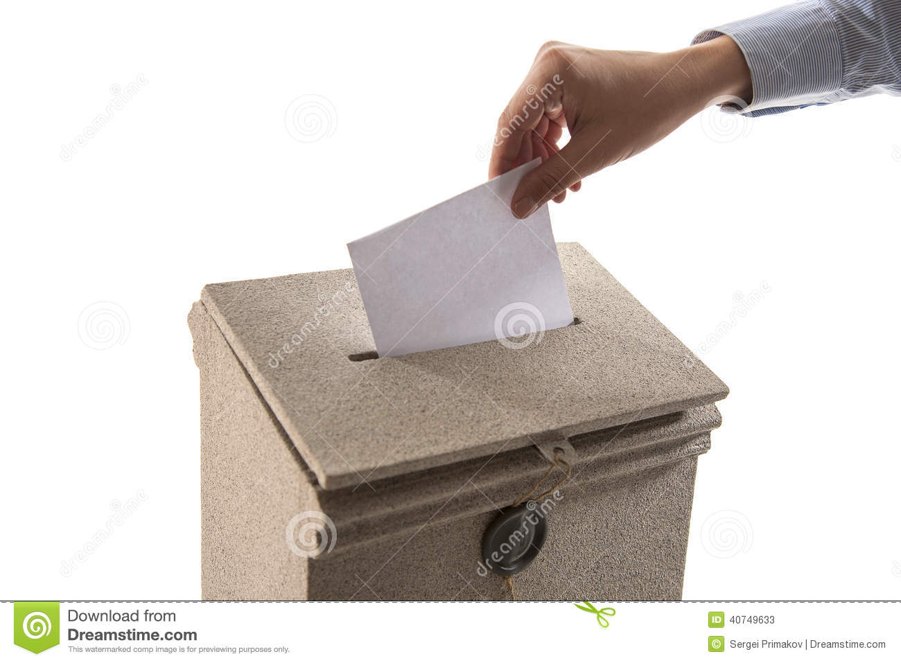 Hand Sending A Letter In A Mail Box Stock Image  Image Of Postbox
