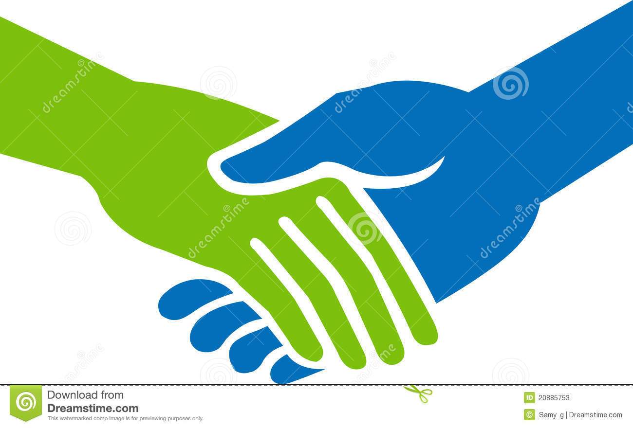 Hand shake stock vector. Illustration of business, friends ...