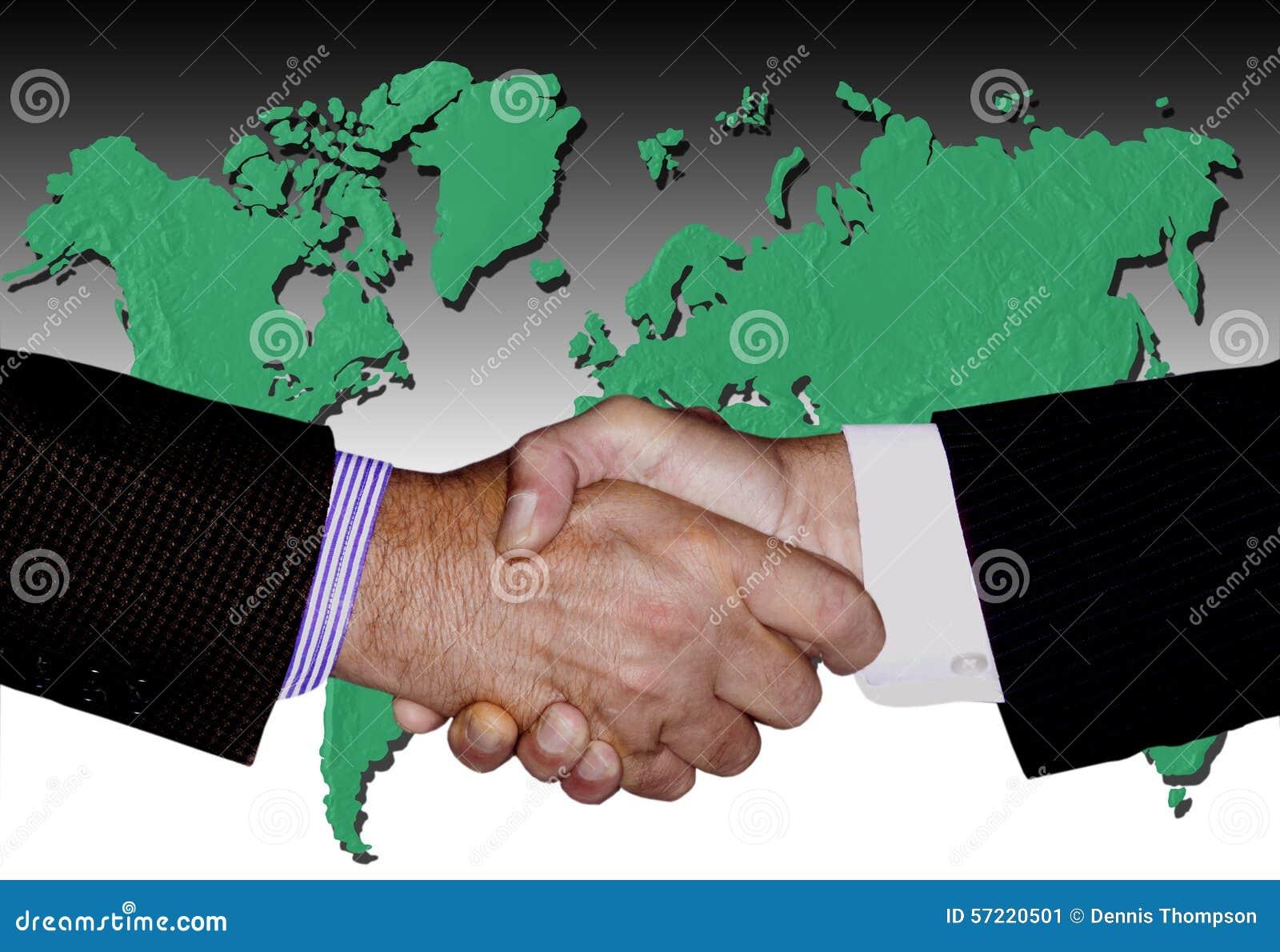 HANDSHAKE ENVIRONMENTAL GLOBAL TECHNOLOGY BUSINESS INDUSTRY