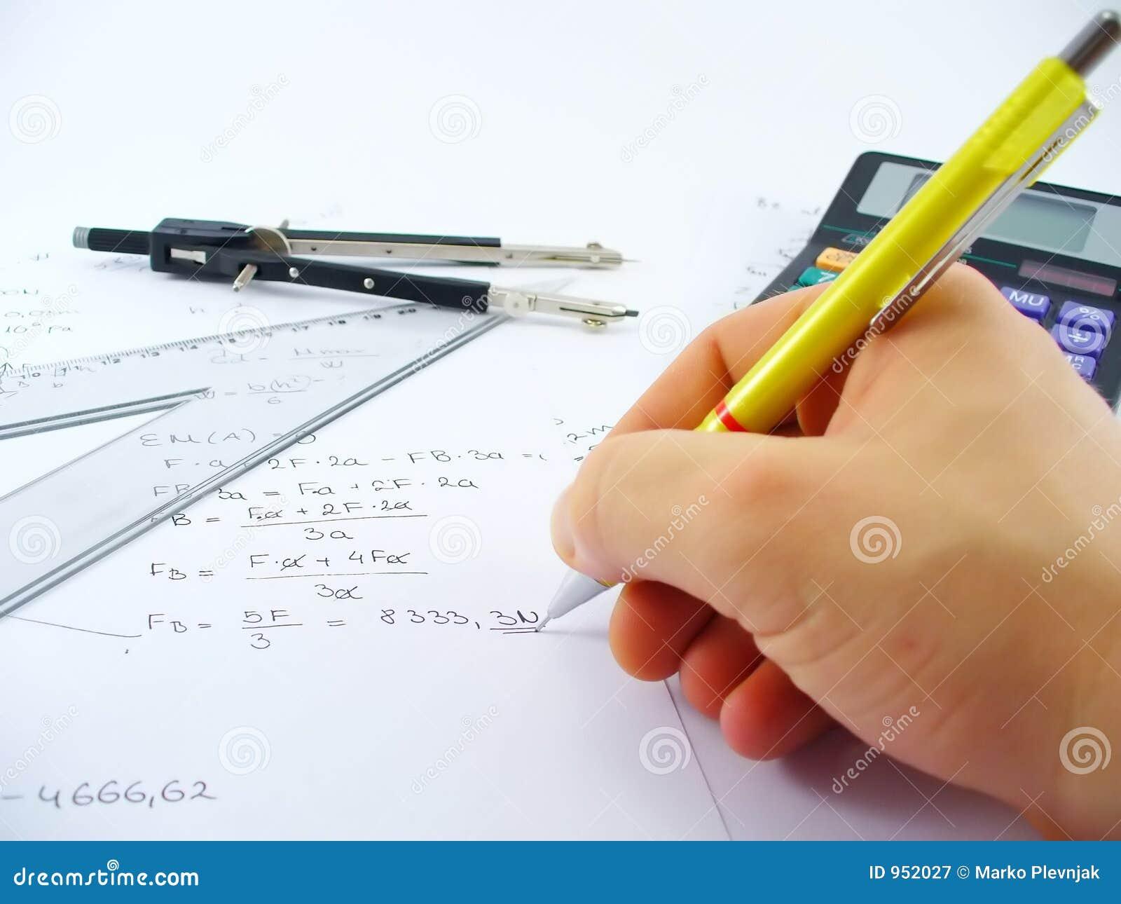 Hand solving problem