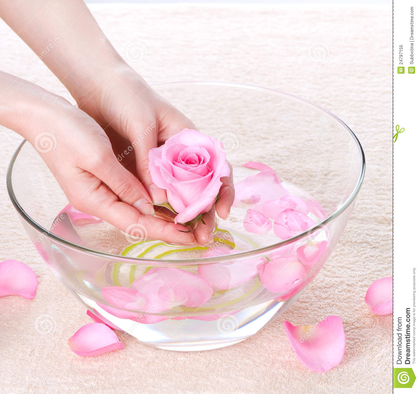 hand spa royalty free stock photo   image 24797155