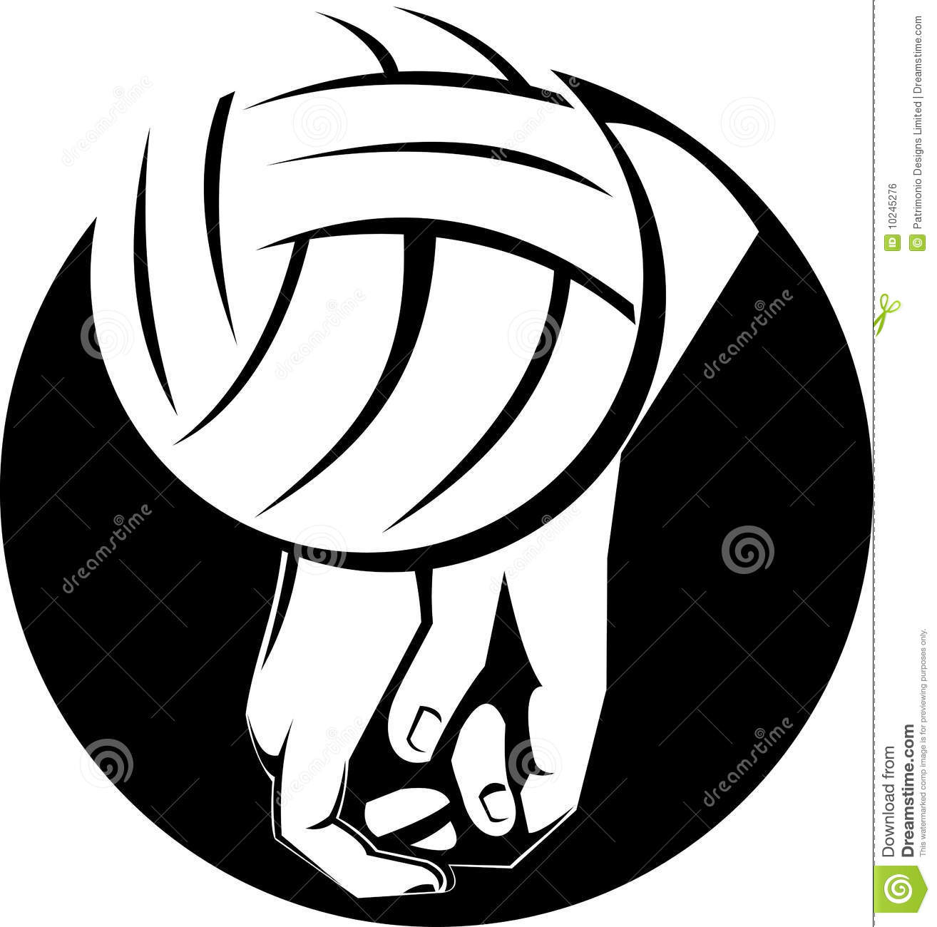 volleyball spike clipart - photo #43