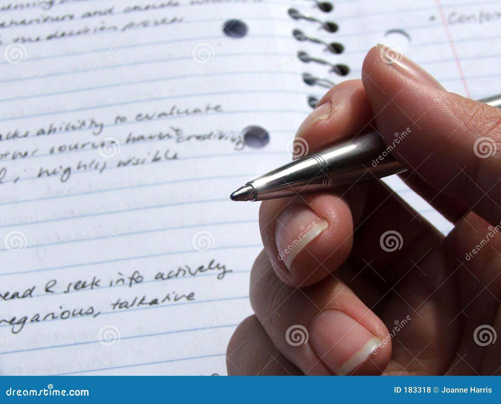 Hand - stationär rymd penna